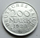 NOTGELD  1923 G  200 MARK  COIN