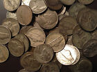 7 Silver War Nickels 1942-1945 US Old Lot US Minted Silver Use to  Barter With!
