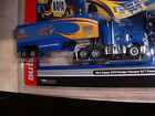 NAPA Semi Truck & Trailer Racing Rigs ho slot car AW new X traction - out of set