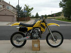 Suzuki : RM This is a RM125 that has had a complete modern restore with some modifications.