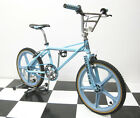 Nice Blue 1984 SE Quadangle Old School BMX Bicycle w/ Freestyle Fork