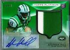 Stephen Hill 2012 Topps Platinum Green Refractor Autograph Patch RC 5 99 Auto!*