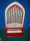 Vintage KATHEDRAL CHIMES play piano organ Toy KUSAN Bakelite 1940s 50s WORKS