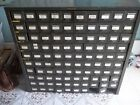 VINTAGE ANTIQUE HOBART METAL 100 DRAWER CABINET ESTATE FIND INDUSTRIAL