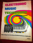 Vintage Analog Synthesizer Rare SH 1000 Technique book manual 1975