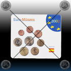 SPAIN complete EURO SET - 8 coins SET 2002 (1 cent - 2 Euro 2001) Uncirculated