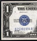 1928C PMG $1 SILVER CERTIFICATE BLUE SEAL FUNNY MONEY BACK VERY RARE KEY DATE!!