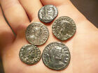 Lot of 5 Very nice Ancient Roman bronze coins.