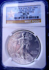 2012 (W) MS 70 NGC EARLY RELEASE GOLD STAR AMERICAN SILVER EAGLE- PERFECT