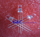 100PCS 5mm LED Lamp  dual colour red-green common anode  Super Bright