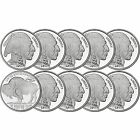 2015 American Buffalo 1oz .999 Fine Silver Round by SilverTowne LOT OF 10