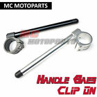 Black Billet Clip-on Handle Bar Suzuki GSXR 1000 01 02 03 04 05 06 07 08 09 10
