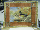 Wood Duck Large Fabric Panel Wall Hanging Cranston VIP Sew Quilt Hautman