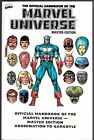Essential Official Handbook Of The Marvel Universe Volume 1 Master Edition