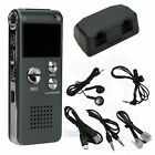 New 8GB Digital Voice Recorder 650Hr Dictaphone MP3 Player with U Disk  Sliver