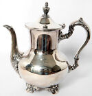 POOLE OLD ENGLISH SILVERPLATE COFFEE POT