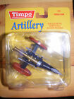 Timpo Toyway Artillery, Field Gun, for use with 54 mm Action Figures