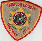 HIDALGO COUNTY CONSTABLE PCT. 1 SHERIFF POLICE PATCH TEXAS TX