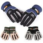 Pair Men's Outdoor Sports Skiing Snowboard Motorcycle Riding Gloves Winter Soft