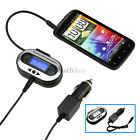 New CAR Radio FM Transmitter Accessory for MP3 MP4 iPhone 5S 5C 4S Samsung S4 S3