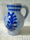 German Stoneware small Pitcher with German Eagle, M.R. ( Marzi Remy )
