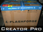 Creator Pro [Metal Frame] FlashForge 3D printer dual extruder (for parts only)