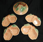 Vintage Set of Belmar Of California 1940's Pottery Pear Bowls 320 Made in USA