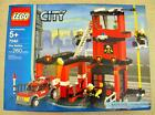 Lego City/Town # 7240 Fire Station New Sealed  HTF