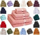 6 Pc Egyptian Cotton Towel Set HIGHER QUALITY 900 GSM Sets Bath Towels Piece NEW