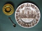 Canada Centennial Set 1967 ( Plate, Spoon, and Ashtray )