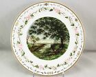 RARE 1883 MINTON CHINA ENGLAND HAND PAINTED RETICULATED PORTRAIT CABINET PLATE
