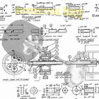 Build 1/8 scale model Race Car Differential Drive Printed Plan