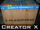 Creator X [Metal Frame] FlashForge 3D printer dual extruder (for parts only)