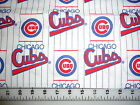 MLB Baseball Chicago Cubs Cotton Fabric 11