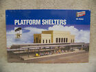 WALTHERS CORNERSTONE 933-3175 PLATFORM SHELTERS HO SCALE BUILDING KIT NEW