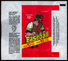 1978 TOPPS OPC O PEE CHEE BASEBALL WAX PACK WRAPPER EX-NM 15 cent UMPIRE IND AD
