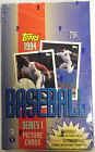 1994 Topps Series 1 Baseball Picture Cards - New Sealed Box