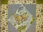 DISNEY Winnie the Pooh Blanket Toddler Crib Bed Panel 100% cotton NEW