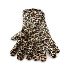 Croft & Barrow Velvet Gloves for Women - One Size - Thinsulate Animal Print