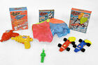 Boys Retro Toys Fun Pack - Balloon Racers, Ray Water Squirters & Paratrooper.