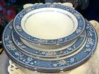 Lot Noritake RANDOLPH #9721 4 PIECES Salad Plts, Berry, B&B FINE BONE CHINA (#4)