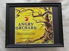 ANGRY ORCHARD HARD CIDER    BEER SIGN   #1052