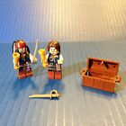 Lego Minifigures Jack Sparrow and Will Turner & Accessories