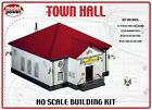 HO Scale -TOWN HALL *Building KIT*  NIB by Model Power, #MDP-400