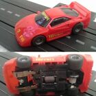 TYCO FERRARI F40 RED #3 440X2 Chassis HO SCALE SLOT CAR