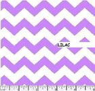CHEVRON PRINT 1/2 INCH FABRIC BY THE BOLT 15 YARDS LARGE VARIETY AVAILABLE