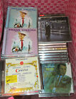 Large CD Compact Disc Music Lot Frank Sinatra Ratpack Fifties Religious More!