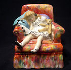 ROYAL DOULTON BY PEGGY DAVIES (SLEEPYHEAD - PORCELAIN FIGURINE - HN2114)