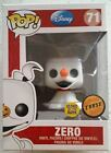 disney Funko Pop CHASE Nightmare Before Christmas ZERO glow GITD hot topic excl