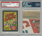 1979 Topps, Wacky Packs, Reissue, Wormy Packages, PSA 9 Mint